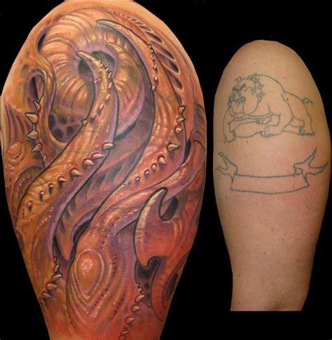 biomechanical tattoo artists phoenix bio organic by jasonvogttattoo on deviantart