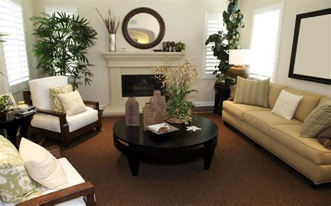 simple ways to decorate your living room simple way to decorate small living room with brown color theme interior decorating colors