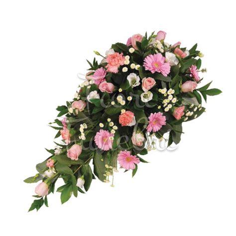 fiori funerale composizione funebre di rosa e gerbere fiori funerale