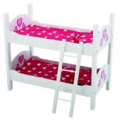 Doll House Bunk Bed 18 Inch Doll Furniture Ebay