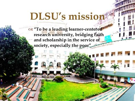 Mba De La Salle by Nurturing Research In A Business School The Dlsu Experience