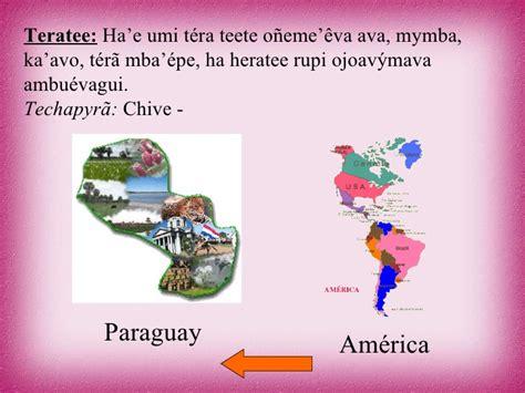 Mba At Umi by 12 Guarani 241 E E Regional Ytusaingo Tero Segunda Parte