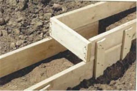 post with cement footing carpentry 25 best ideas about concrete footings on deck