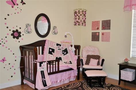 pink and brown nursery pink and brown bedding webnuggetz com