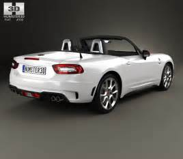 Fiat 124 Spider Abarth Fiat 124 Spider Abarth 2017 3d Model Hum3d