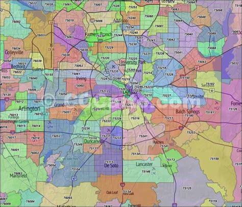 Zip Code Map Dallas County   dallas zip code map dazzlin dallas pinterest zip