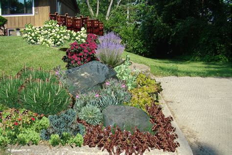 Renovate My Ranch Starting On Front Yard Front Yard Rock Garden