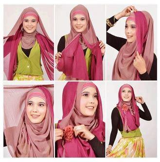 gambar tutorial jilbab syar i gambar tutorial hijab modern syar i
