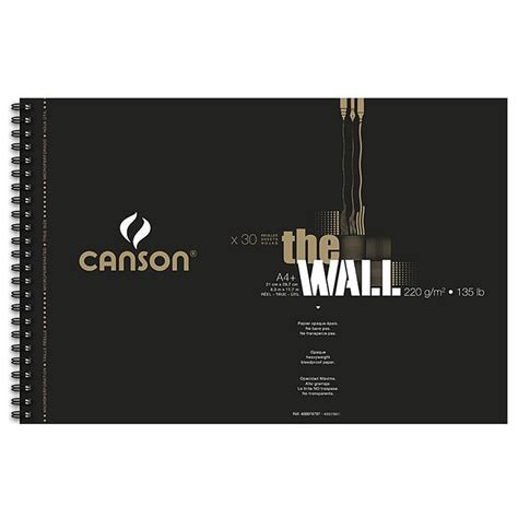 Canson Marker canson the wall pads 220gsm bleedproof marker paper