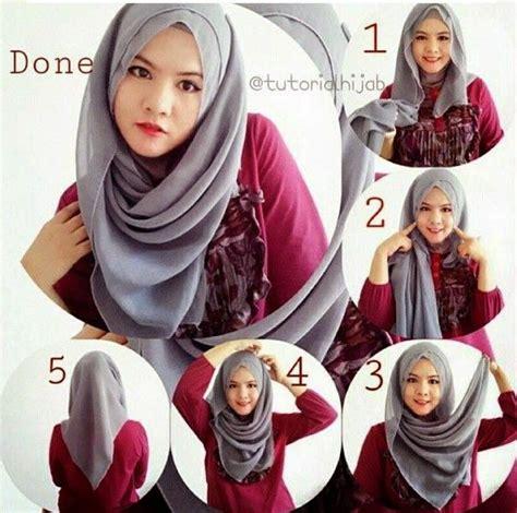 tutorial hijab berkacamata terbaru model hijab terbaru segiempat hijab terbaru fashion dan