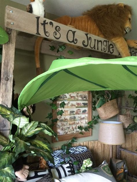 Jungle Home Decor by Hometalk Jungle Themed Bedroom