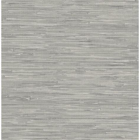 grasscloth peel and stick wallpaper nuwallpaper grey tibetan grasscloth peel and stick
