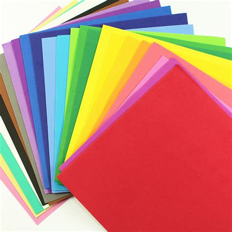 Paper Foam Crafts - 25 25cm 1mm chiyogami sponge foam paper fold scrapbooking