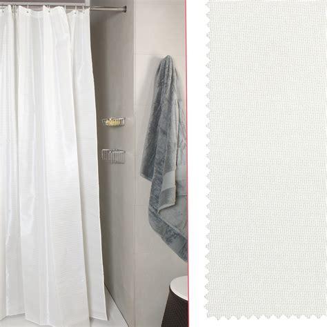 tenda doccia per vasca tenda doccia per vasca canvass bianco misura 240x200 koh