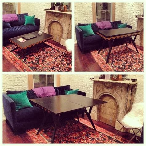 Coffee Table Transforms Into Dining Table Coolest Coffee Table It Transforms Into A Dining Table Found On Ebay Functional