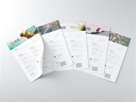creative cv template ai 28 minimal creative resume templates psd word ai