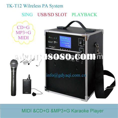 Hardisk Karaoke hdd player disk karaoke player microphone player for sale price china manufacturer