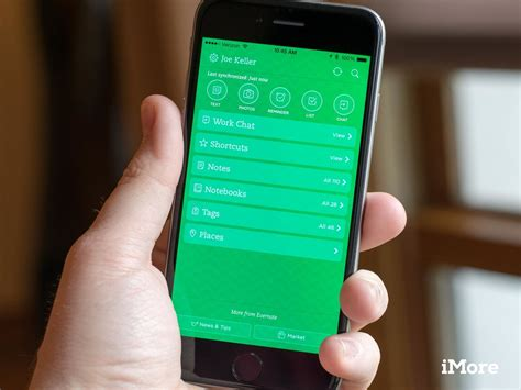 evernote  iphone  ipad   automatically find  scan  physical documents imore