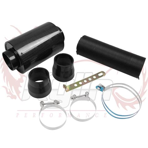 cheap induction kit kylin store universal racing air filter box carbon fiber cold feed induction kit air intake kit