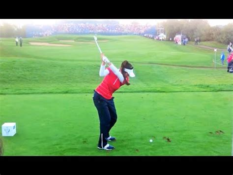 perfect golf swing video slow motion perfect golf swing slow motion 4 different speeds youtube