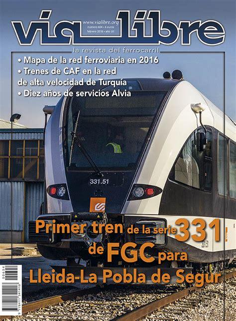 revista via libre n 250 mero de febrero de la revista v 237 a libre aeepp