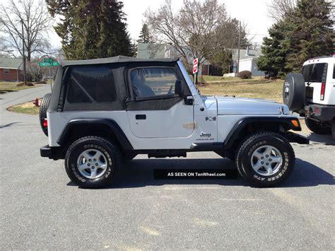 jeep 2003 wrangler 2003 jeep wrangler x sport utility 2 door 4 0l