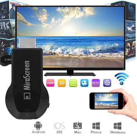 Mirascreen Dlna Airplay Wifi Display Miracast Tv Dongle Wireless Buy Wholesale Android Tv Stick From China Android Tv Stick Wholesalers Aliexpress