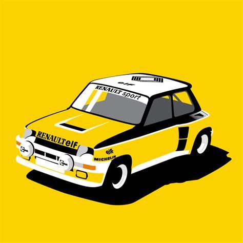 renault 5 turbo racing renault 5 turbo rally car racing livery we collect and