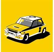 Renault 5 Turbo Rally Car Racing Livery We Collect And