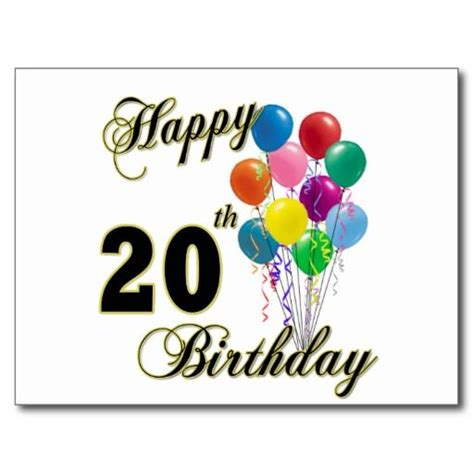 20th Birthday Quotes For Friends Happy 20th Birthday Wishes And Greetings Birthday Wishes