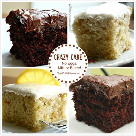 sweet little bluebird chocolate crazy cake no eggs milk butter or bowls