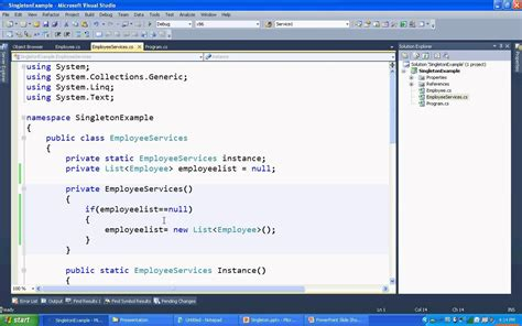 singleton design pattern youtube singleton design pattern in c net static class vs