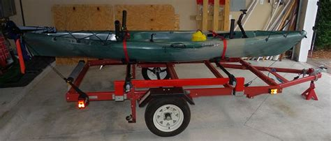 boat trailers for sale harbor freight harbor freight folding trailer for hauling kayaks canoes