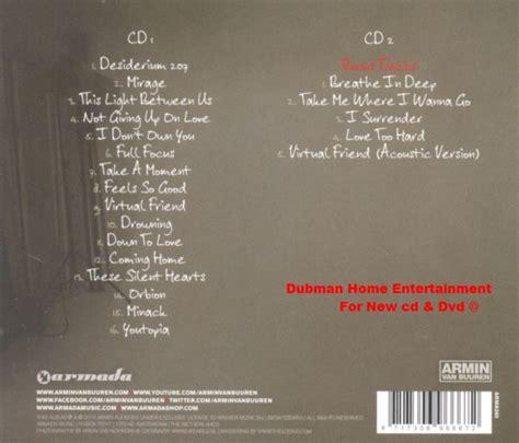 Armin Buuren Limited armin buuren mirage 2 cd limited edition dubman