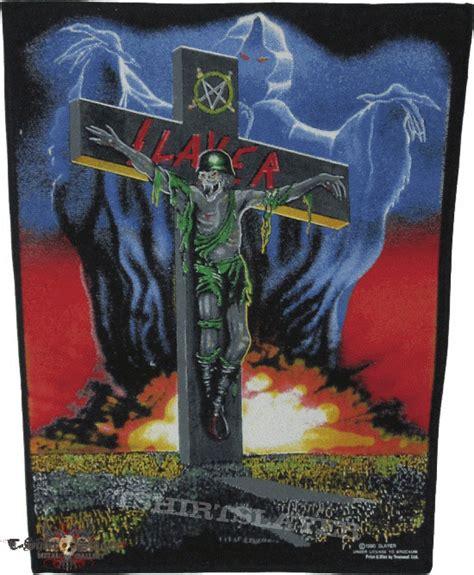 Slayer War 2 slayer war ensemble backpatch tshirtslayer tshirt and