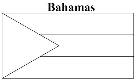 bahamas map coloring page geography blog bahamas flag coloring page