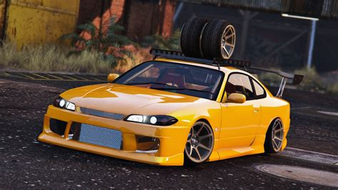 nissan silvia nissan silvia s15 add on replace tuning gta5 mods com