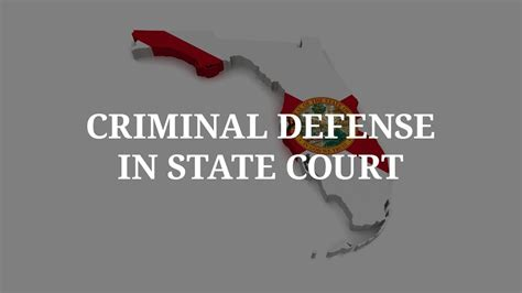 Miami Florida Court Records Litigating Criminal Cases In Fl State Court 112 Michael