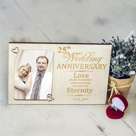 Wedding Anniversary Photo Frame by Wedding Anniversary Personalised Photo Frame By