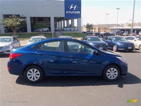 Blue Hyundai Accent by 2016 Pacific Blue Hyundai Accent Se Sedan 107951407 Photo