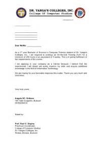 Application Letter Sample Application Letter Sample Dswd