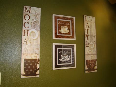 themed wall decor coffee themed kitchen decor ideas homestylediary