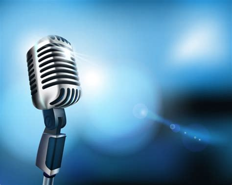 microphone design vector set of microphone design elements graphics 05