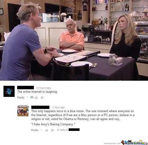 Amy S Baking Company Meme - amy s baking company by recyclebin meme center