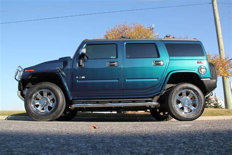 Hummer H2 Limited Edition by 2008 H2 Hummer Suv Limited Edition Ultra Marine Metallic