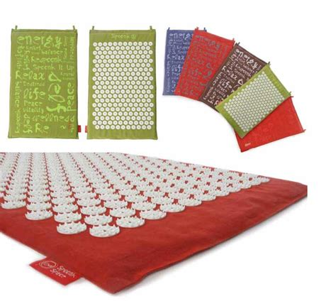 Acupressure Mats by Spoonk Acupressure Mat Our Wonderful World Media
