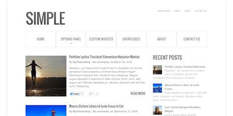 layout blog simple simple blog wordpress theme mythemeshop