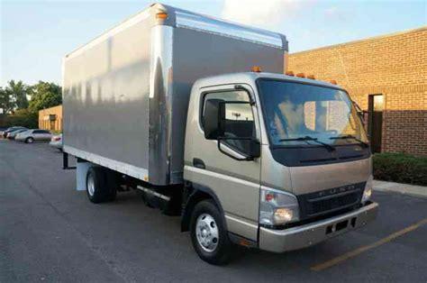 mitsubishi fuso box truck mitsubishi fuso fe145 box cube truck clean auto 16ft box