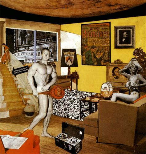 home so richard hamilton collage design photography lifestyle