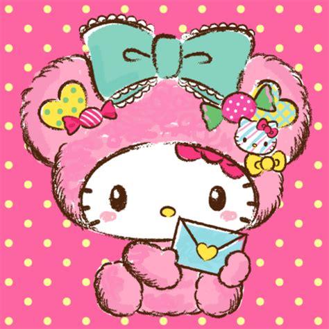 Imagenes Kawaii De Hello Kitty | pink bear hello kitty hello kitty pinterest hello